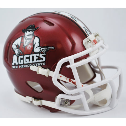 New Mexico State Aggies Riddell Speed Mini Helmet