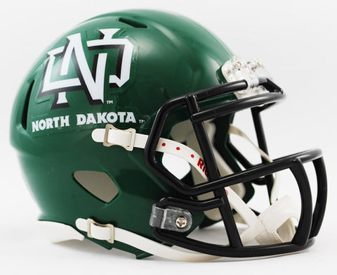 North Dakota Fighting Hawks Riddell Speed Mini Helmet