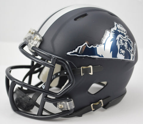 Old Dominion Monarchs Riddell Speed Mini Helmet - Matte Navy