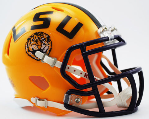 LSU Tigers Riddell Speed Mini Helmet