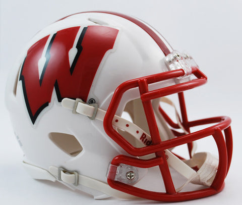 Wisconsin Badgers Riddell Speed Mini Helmet