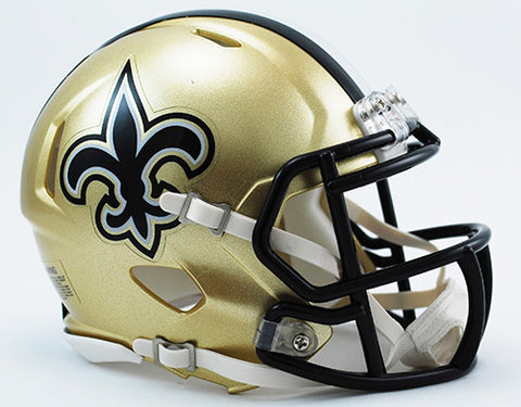 New Orleans Saints Riddell Speed Mini Helmet