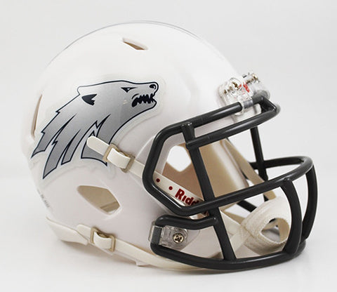 Nevada Wolfpack Riddell Speed Mini Helmet