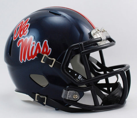 Mississippi Rebels Riddell Speed Mini Helmet