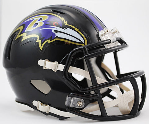 Baltimore Ravens Riddell Speed Mini Helmet