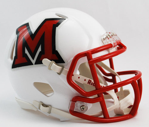Miami Redhawks Riddell Speed Mini Helmet