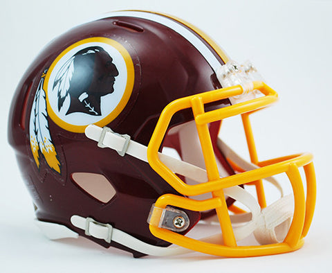 Washington Redskins Riddell Speed Mini Helmet