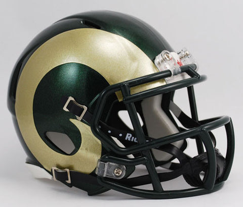 Colorado State Rams Riddell Speed Mini Helmet