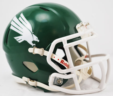 North Texas Mean Green Riddell Speed Mini Helmet