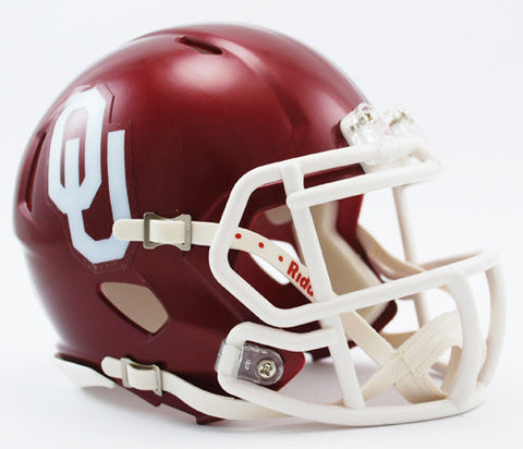 Oklahoma Sooners Riddell Speed Mini Helmet
