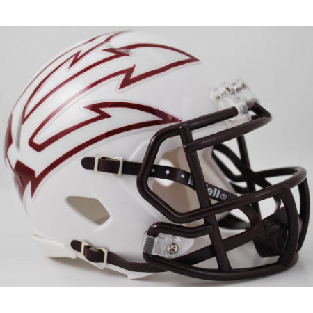 Arizona State Sun Devils Riddell Speed Mini Helmet - White with Large Pitchfork