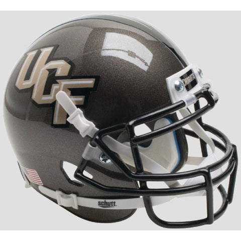 Central Florida Golden Knights Gray Schutt XP Mini Helmet - Alternate 3