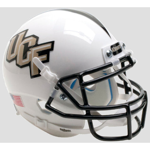 Central Florida Golden Knights White Schutt XP Mini Helmet - Alternate 4