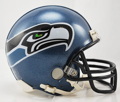Seattle Seahawks Throwback 2002-2011 Riddell Z2B Mini Helmet