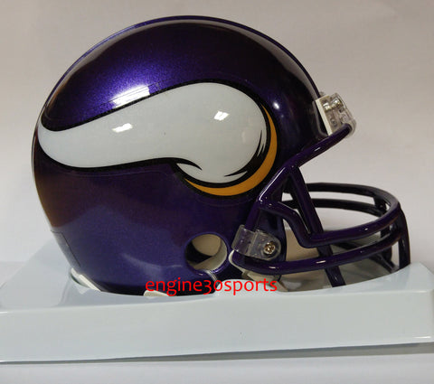 Minnesota Vikings Throwback 2006-2012 Riddell Z2B Mini Helmet