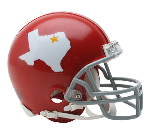 Dallas Texans AFL 1960-1962 Throwback Riddell Z2B Mini Helmet