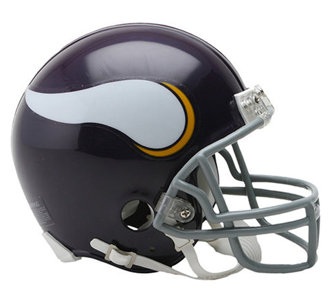 Minnesota Vikings Throwback 1961-1979 Riddell Z2B Mini Helmet