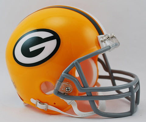 Green Bay Packers 1961-1979 Throwback Riddell Z2B Mini Helmet
