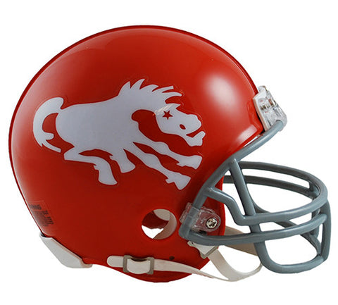 Denver Broncos 1962-1965 Throwback Riddell Z2B Mini Helmet