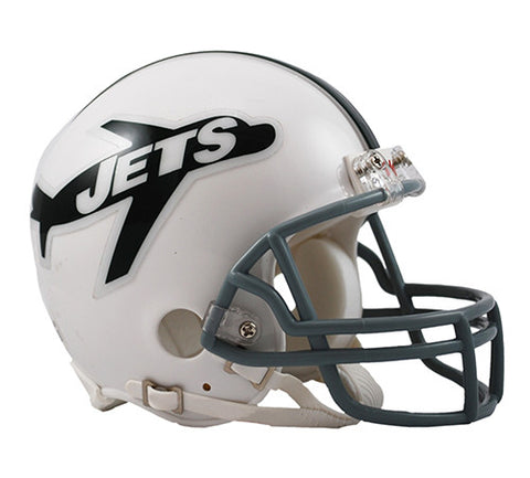 New York Jets Throwback 1963 Riddell Z2B Mini Helmet