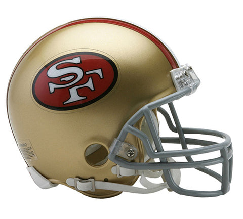 San Francisco 49ers Throwback 1964-1995 Riddell Z2B Mini Helmet