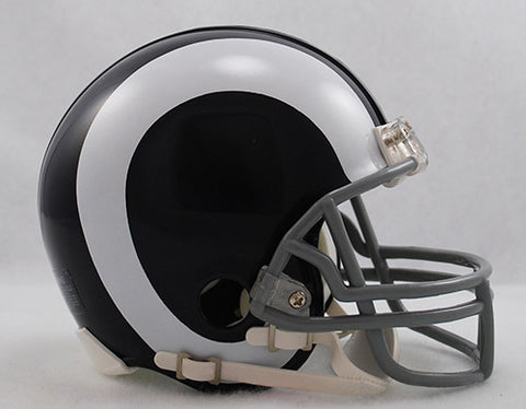 Los Angeles Rams 1965-1972 Throwback Riddell Z2B Mini Helmet