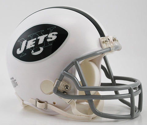New York Jets Throwback 1965-1977 Riddell Z2B Mini Helmet