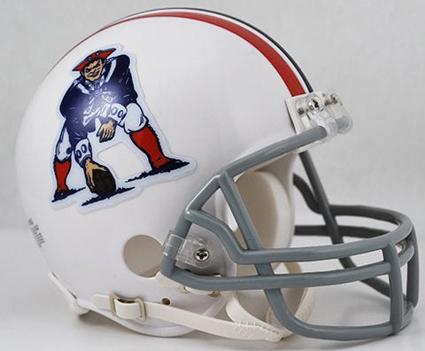 New England Patriots Throwback 1965-1981 Riddell Z2B Mini Helmet