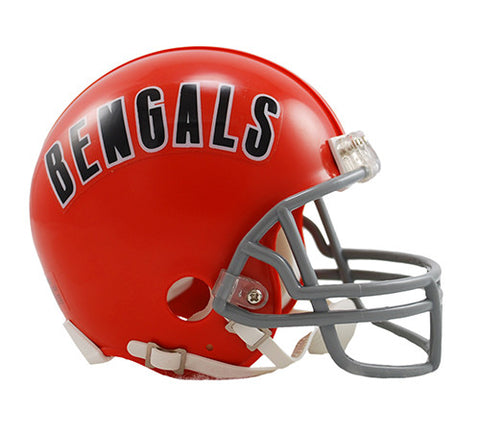 Cincinnati Bengals 1968-1979 Throwback Riddell Z2B Mini Helmet