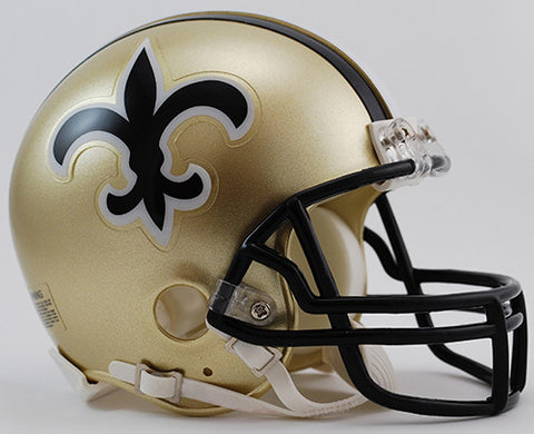 New Orleans Saints Throwback 1976-1999 Riddell Z2B Mini Helmet