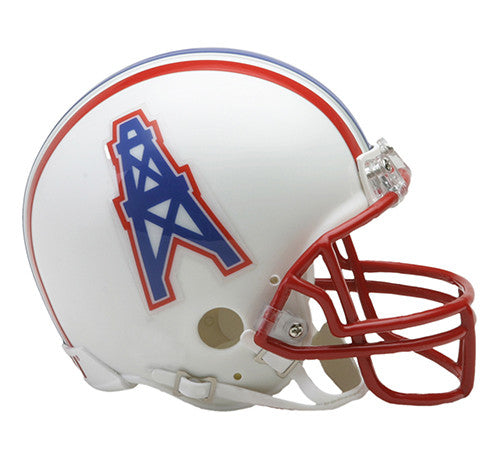 Houston Oilers 1981-1998 Throwback Riddell Z2B Mini Helmet
