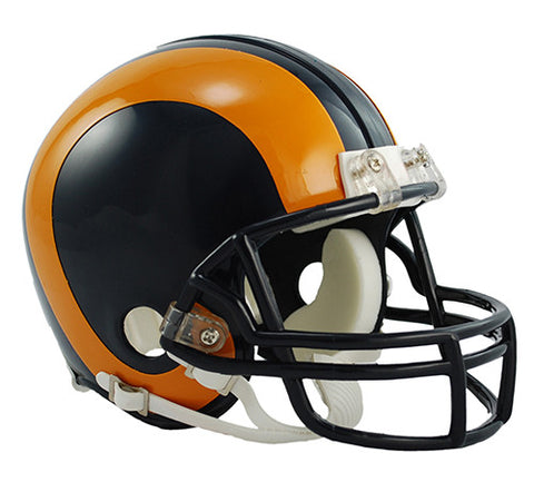 Los Angeles Rams 1981-1999 Throwback Riddell Z2B Mini Helmet