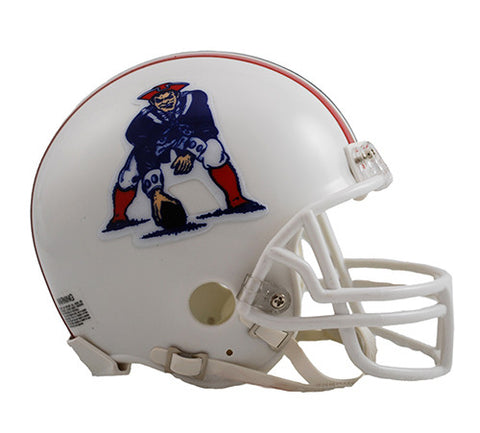 New England Patriots Throwback 1982-1989 Riddell Z2B Mini Helmet