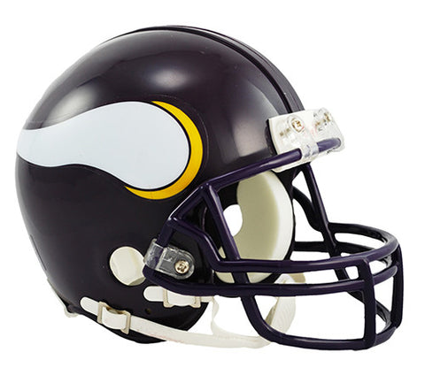 Minnesota Vikings Throwback 1983-2001 Riddell Z2B Mini Helmet