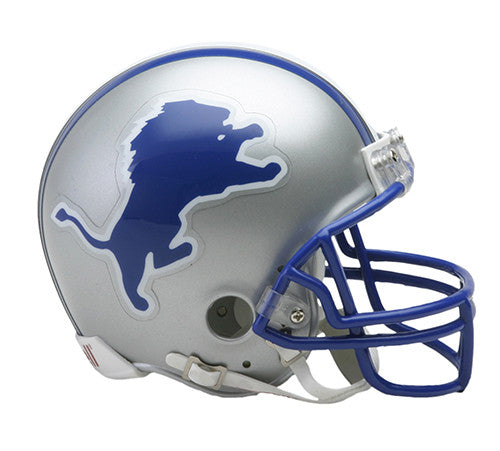 Detroit Lions 1983-2002 Throwback Riddell Z2B Mini Helmet