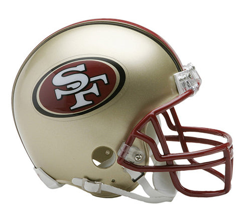 San Francisco 49ers Throwback 1996-2008 Riddell Z2B Mini Helmet