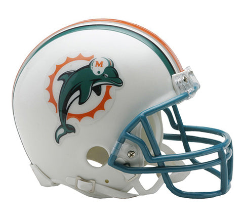Miami Dolphins Throwback 1997-2012 Riddell Z2B Mini Helmet