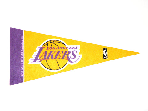 "Los Angeles Lakers 4""x9"" Mini Pennant"