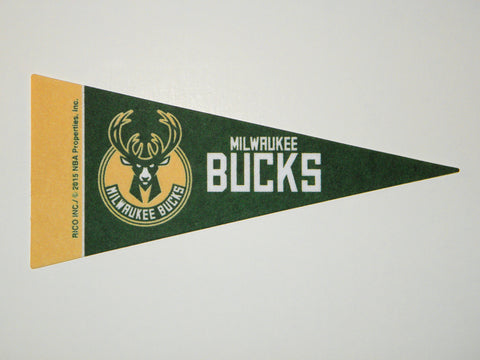 "Milwaukee Bucks 4""x9"" Mini Pennant"