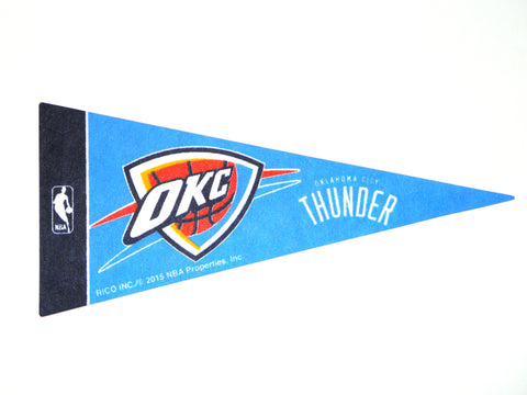 "Oklahoma City Thunder 4""x9"" Mini Pennant"