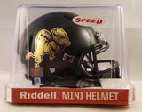 Colorado Buffaloes 2019 Chrome Buffalo Riddell Speed Mini Helmet