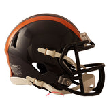 Chicago Bears 1936 Tribute Riddell Speed Mini Helmet side