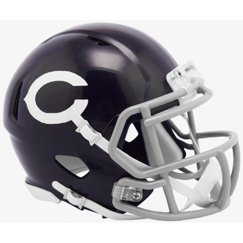 Chicago Bears 1960 Classic Riddell Speed Mini Helmet