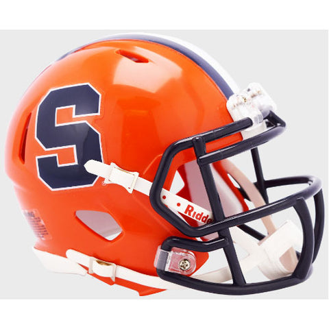 Syracuse Orange Riddell Speed Mini Helmet