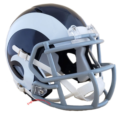 Los Angeles Rams 2016 Color Rush Riddell Speed Mini Helmet