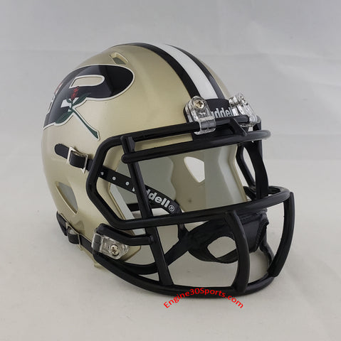 Purdue Boilermakers Riddell Speed Mini Helmet - 20th Anniversary Rose Bowl