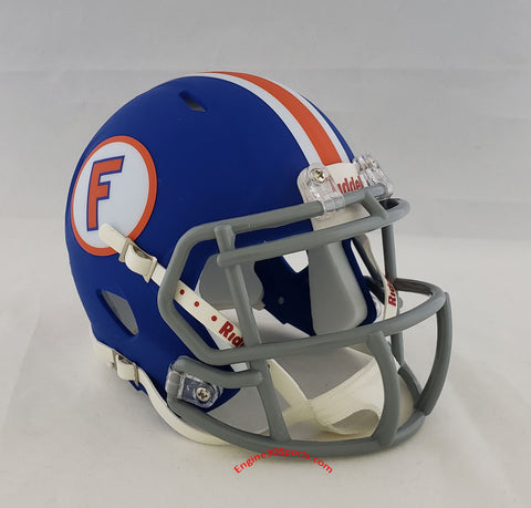 Florida Gators Riddell Speed Mini Helmet - Blue Throwback