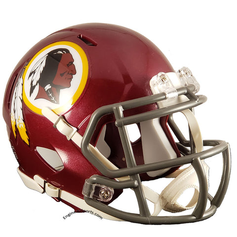 Washington Redskins Tribute Riddell Speed Mini Helmet