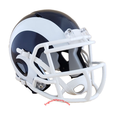 Los Angeles Rams 2017-2019 Riddell Speed Mini Helmet