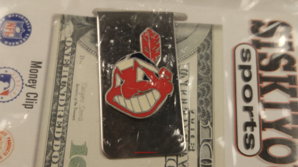 Cleveland Indians Chief Wahoo Money Clip